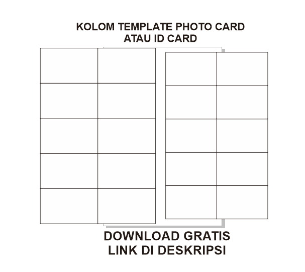 Download Template Photo Card / Id Card