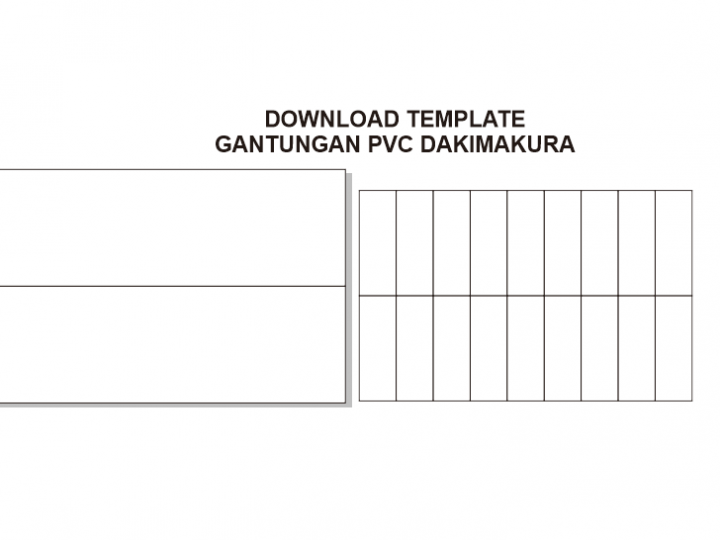 Download Template Ganci PVC Dakimakura