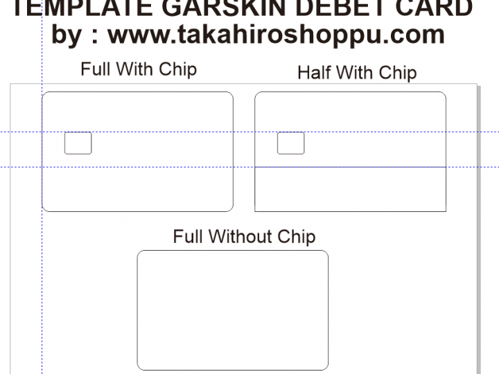DOWNLOAD TEMPLATE GARSKIN DEBET / CREDIT CARD